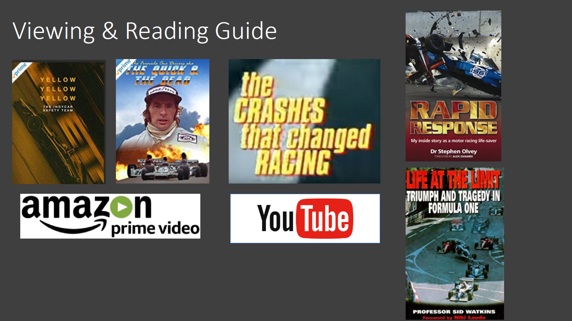 viewing and reading guide